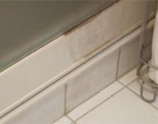 浴室のゴムパッキンも黒カビも根こそぎ除去