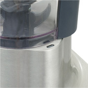 デロンギDeLonghi クアッドブレード ミニフードプロセッサー [DCP250]は、容器とフタと連結ロックが確実に合わないとスイッチが入らない安全設計です。
