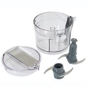 デロンギDeLonghi クアッドブレード ミニフードプロセッサー [DCP250]は、カッター、ふたは容器から外せるため洗いやすく、清潔に保てます。