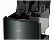 サーモス【THERMOS】真空断熱ポット コーヒーメーカー ECH-1001 CSの給水タンクは取り外せるので、給水やお手入れに便利です。