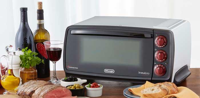 デロンギ ディスティンタコレクション オーブン&トースター EOI406J-BK