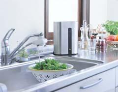 1日平均でたっぷり30リットルの水がお使いいただけます。