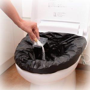 画像2: 【送料無料】災害用トイレ エコレット10 3箱入り/30回分