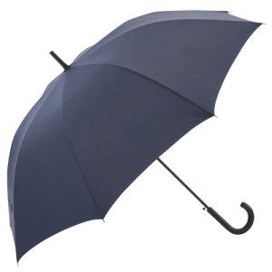 画像1: 【送料無料】撥水ジャンプ傘 メンズ 耐風傘