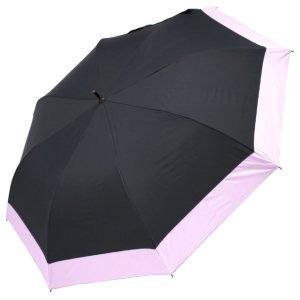 画像1: エコワン ショートワイド傘 ブラック