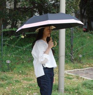 画像4: エコワン ショートワイド傘 ブラック