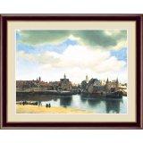 アート額絵 フェルメール F6サイズ デルフトの眺望
