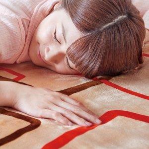 画像2: 椙山紡織 プレミアムボア電気敷毛布ロング クリエイティブスクエアー