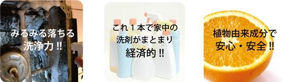 ルプラス 住宅用多目的洗剤はみるみる落ちる洗浄力。植物由来成分で安心・安全
