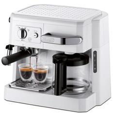 デロンギ コンビコーヒーメーカー ホワイト