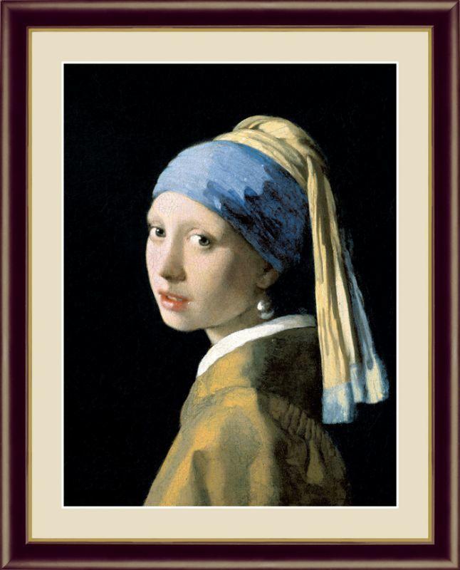 ヨハネス・フェルメール G4-BM001 真珠の耳飾りの少女