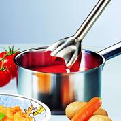 調理中の鍋にそのまま使えます。