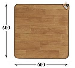 ホット テーブルマット60cm ナチュラルブラウン