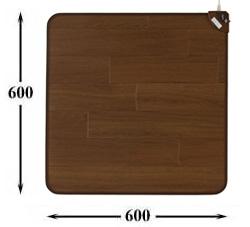 ホットテーブルマット 60cm ダークブラウン