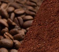 コーヒー豆、コーヒー粉どちらも対応。