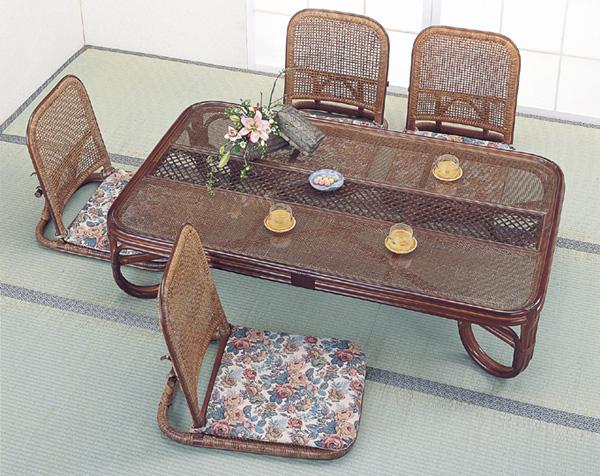 和洋を問わず似合うデザインで、座椅子もそろえればトータルにコーディネイトできます。
