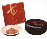 七福梅1kg(紀州漆器入り)
